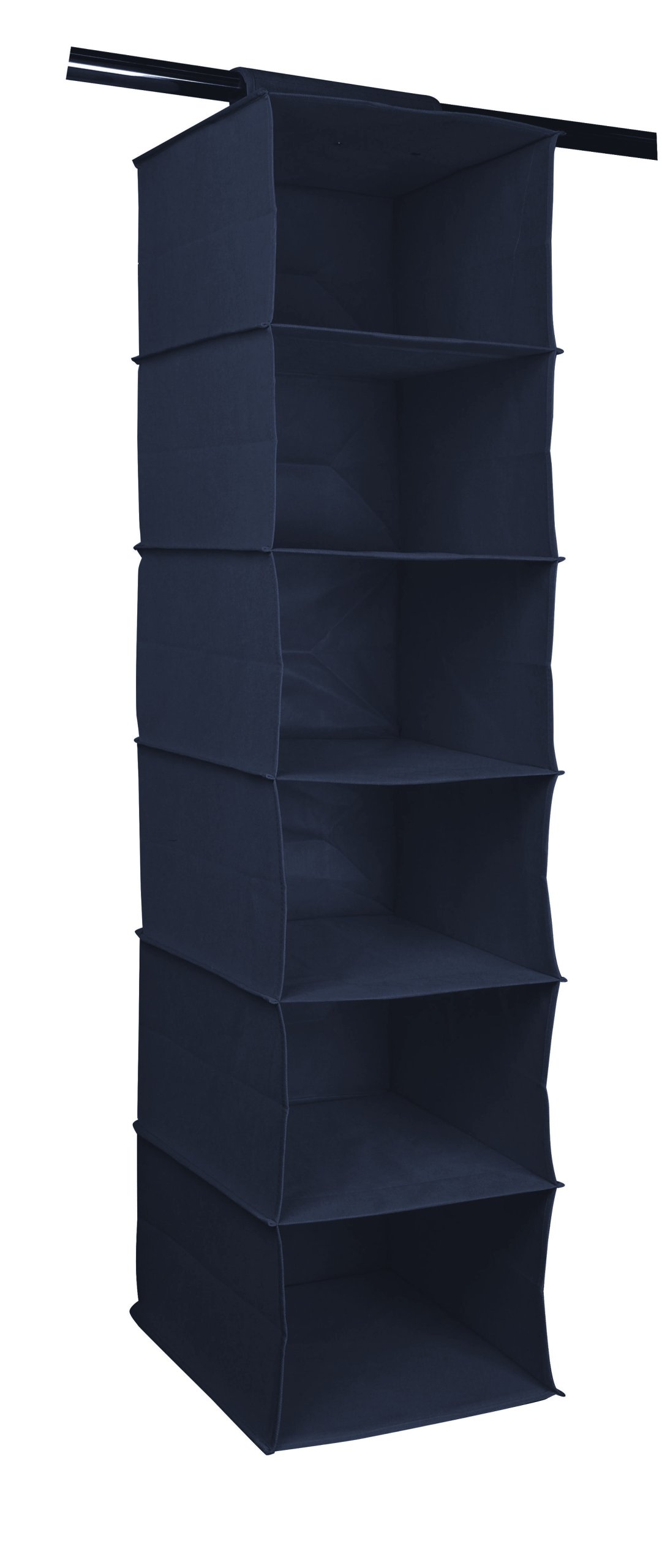 Półka Wisząca 6 Półek Szafa Materiałowa Tekstylna