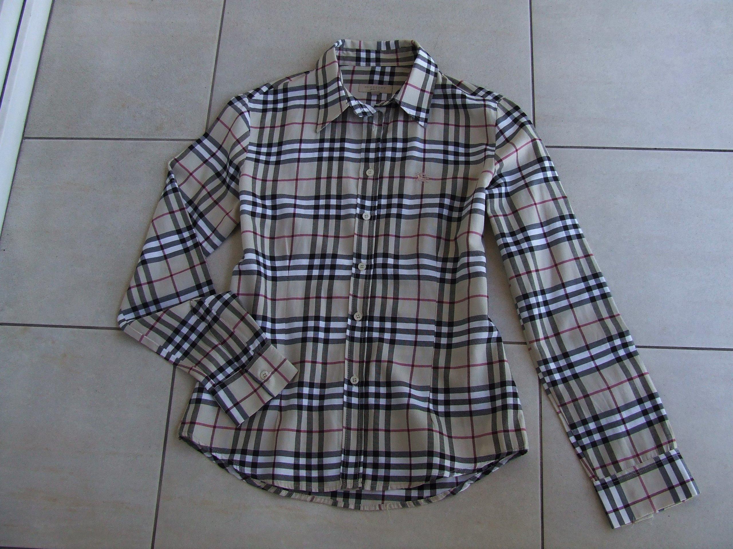 896bcb64d BURBERRY kultowa koszula 38/40 bawełna NOWA cudna - 7384603959 ...