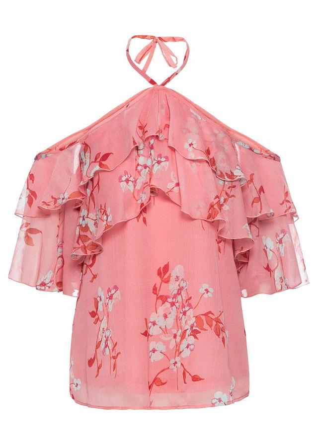Bluzka z nadrukiem różowy 38 M 918902 bonprix