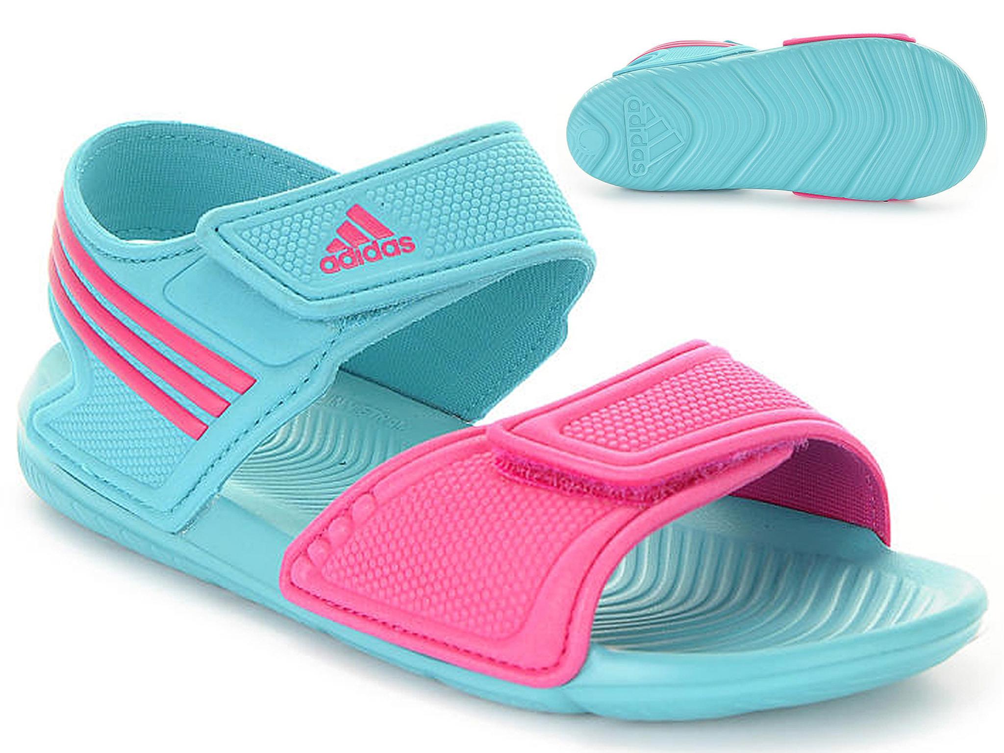 1e83c53c84a35 Adidas - Sandały Dziecięce - Akwah 9 K AF3872 -33 - 6851059219 ...