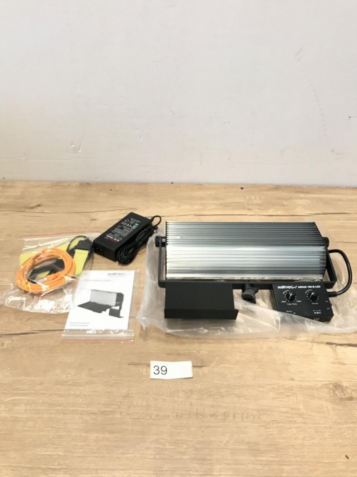 111B5 Lampa fotograficzna Walimex Pro Sirius 160