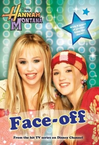 Hannah Montana face-off książka po angielsku bajka