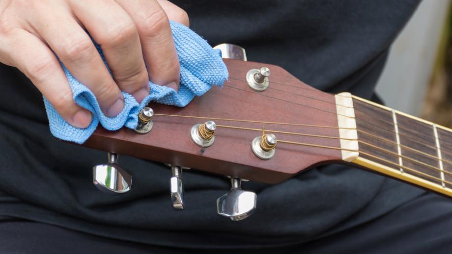Polecane środki do konserwacji gitary