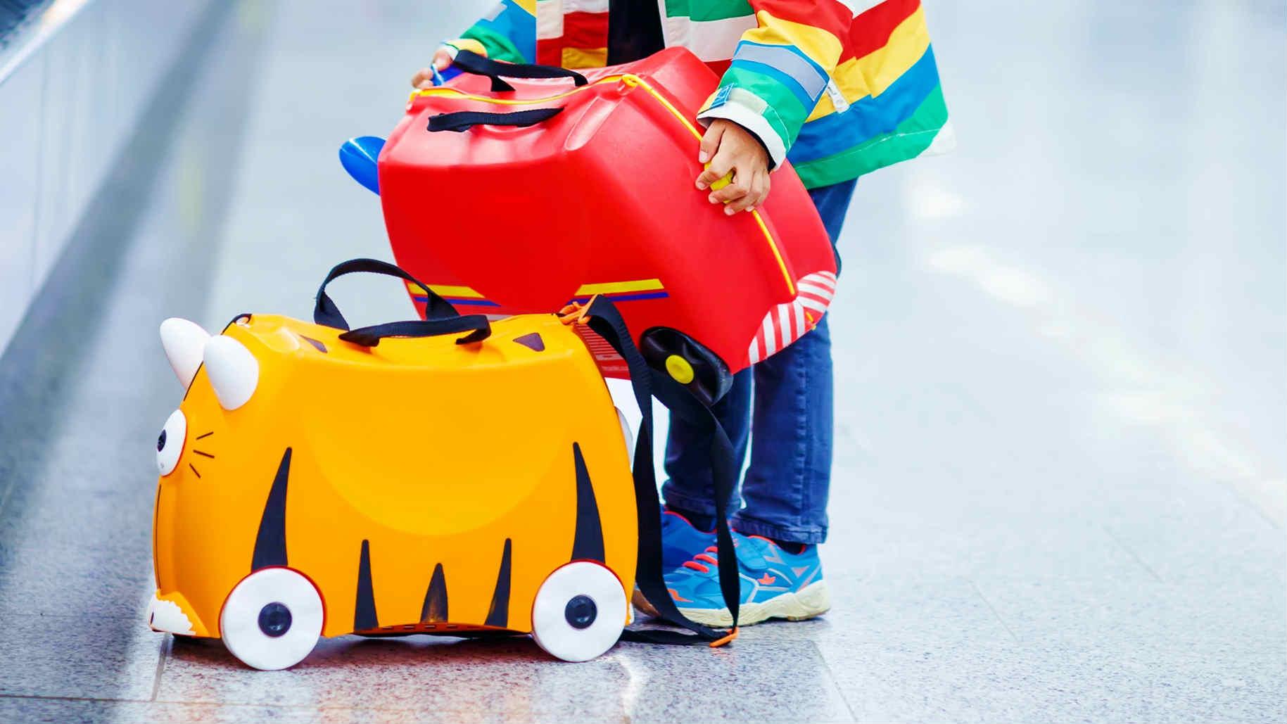 Walizka – jeździk dla dziecka