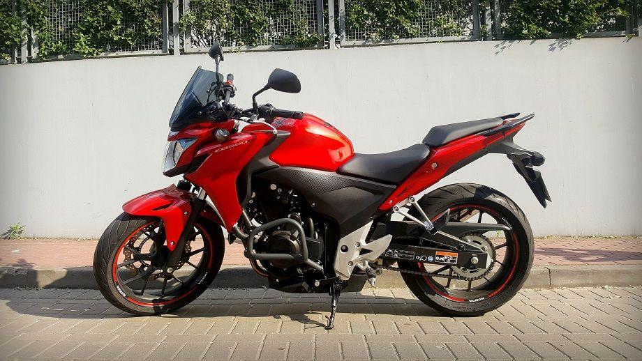 Honda CB500F z 2014 roku. Czyli idealny motocykl na początek