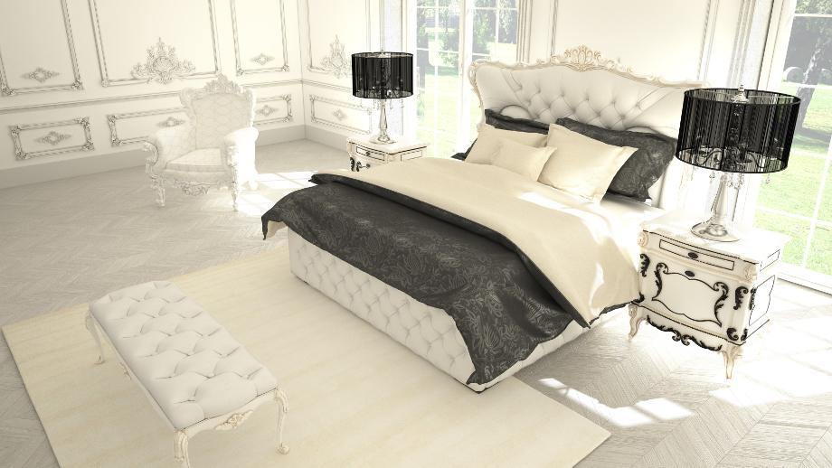 Sypialnia W Stylu Glamour Allegropl