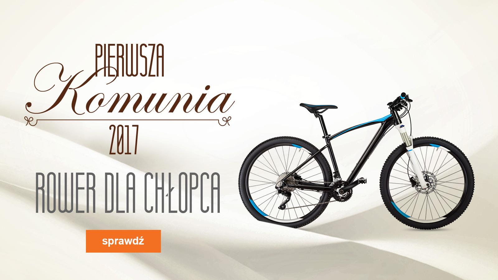 Komunia 2017 – jaki rower wybrać dla chłopca?