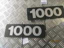 Daf 1000 эмблема надпись значек logo двери