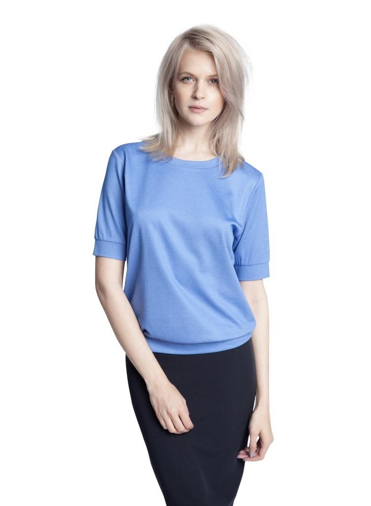 Bluzka ECHO LILA 2-15022-116058-171120 niebieski S
