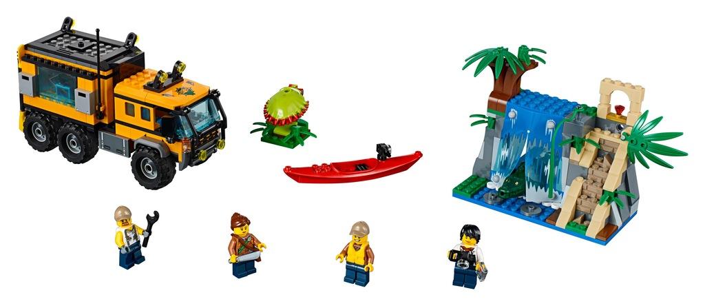 Klocki LEGO City Jungle Explorers Mobilne laboratorium 60160
