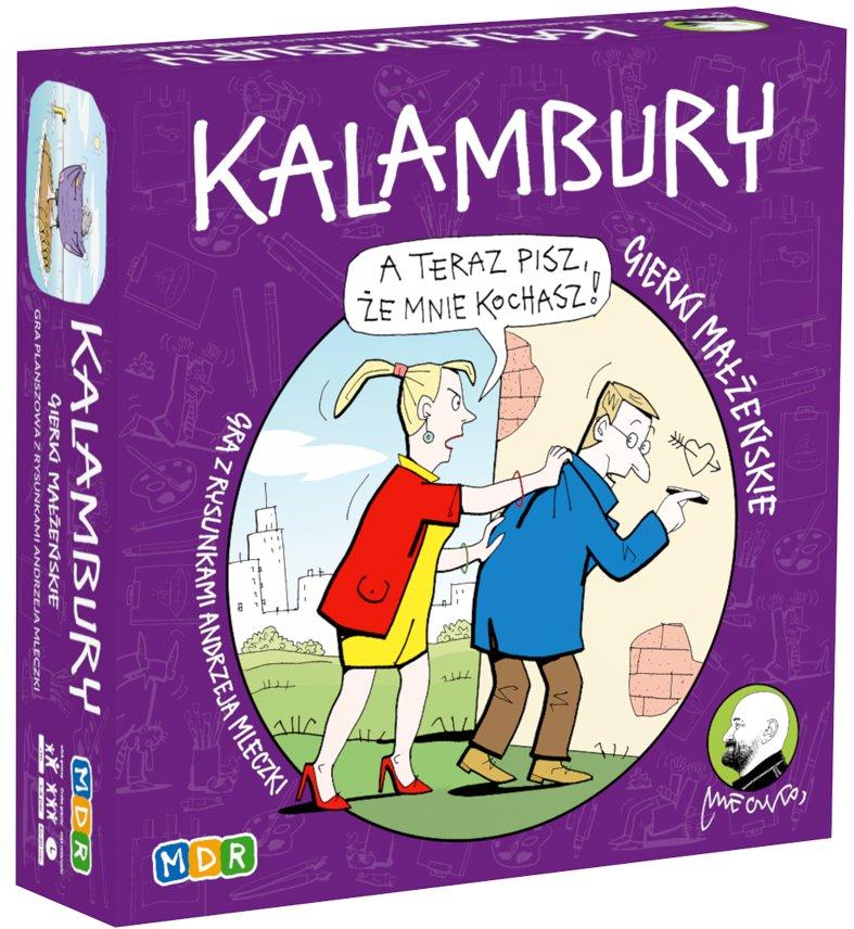 Kalambury - gra z ilustracjami Andrzeja Mleczki