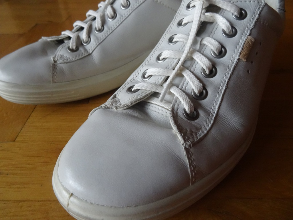 ECCO Soft 7_białe trampki_adidasy r.41_SUPER!!! 7340887738