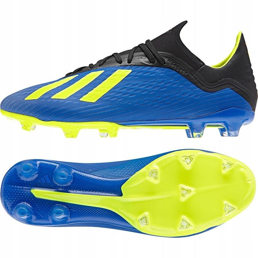 Buty adidas X 18.2 FG DA9334 41 13 niebieski