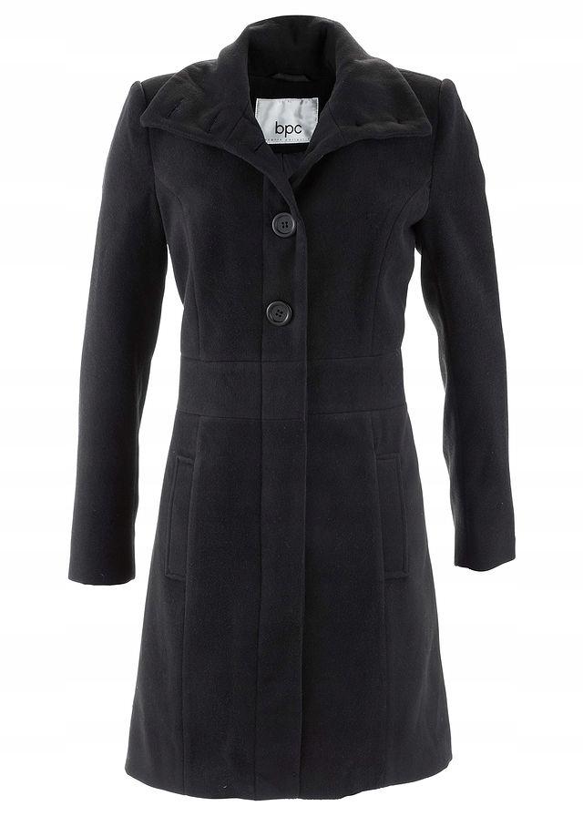Płaszcz czarny 40 L 979379 bonprix