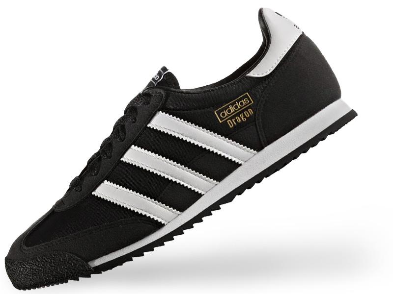 buty damskie adidas dragon j czarny
