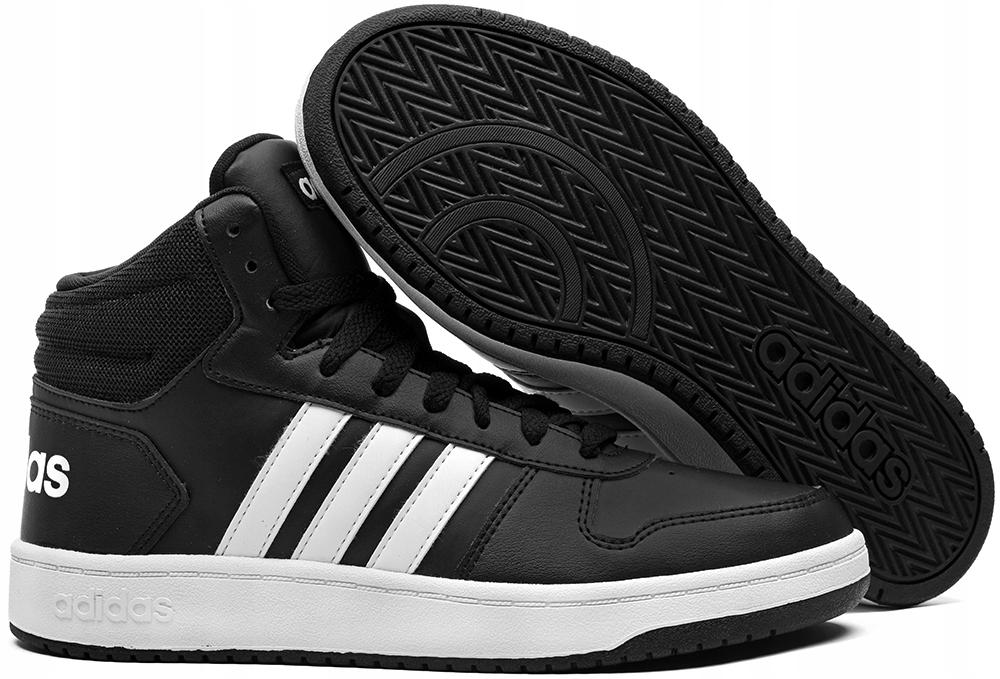 Buty Męskie Adidas Hoops 2.0 Mid BB7207 r.44,5