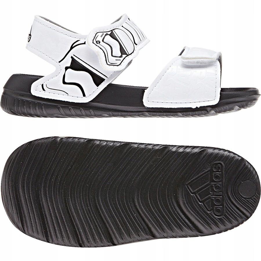 Sandały adidas DY Star Wars Alta Swim CQ0128 biały