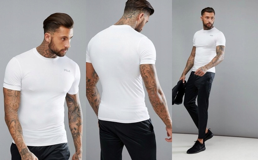 T shirt męski biały Fila