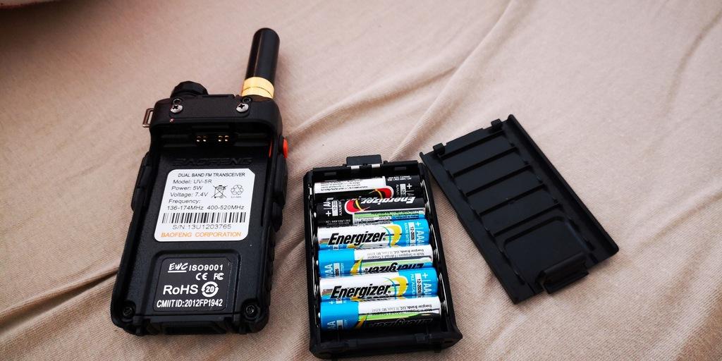Radiotelefon Baofeng UV-5R