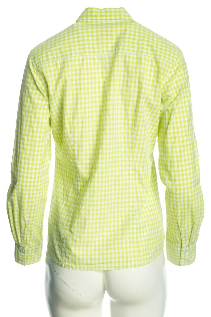 S.OLIVER limonkowo biała koszula w kratę r.ML 7339761849