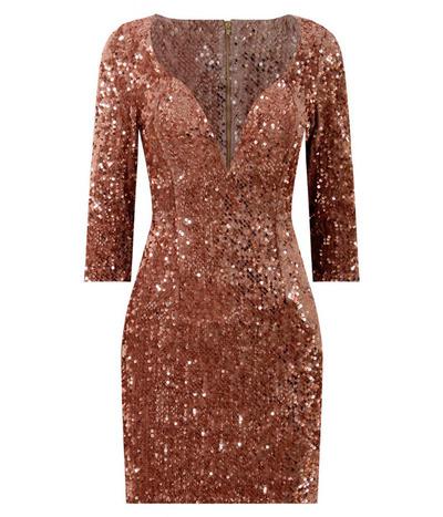 Ad Lib Gcd1614 Cekinowa Sukienka Na Sylwestra M 7010244148 Oficjalne Archiwum Allegro