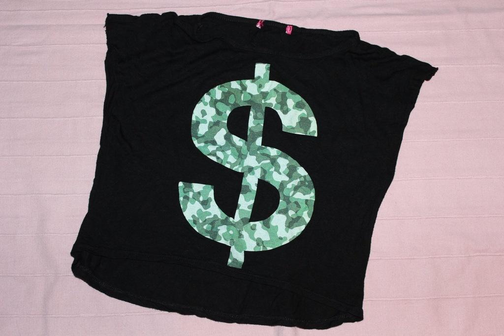 Bluzeczka T-shirt Dolar R.128 cm!
