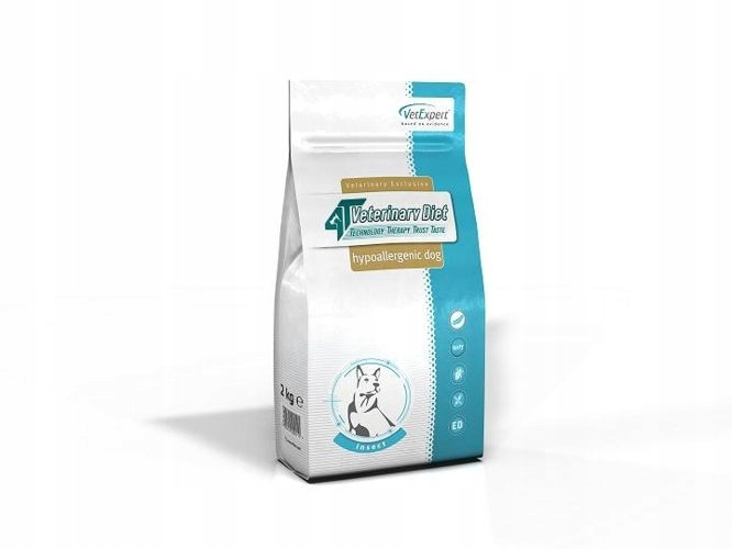 4T VETERINARY DIET DOG HYPOALLERGENIC INSECT 14 KG