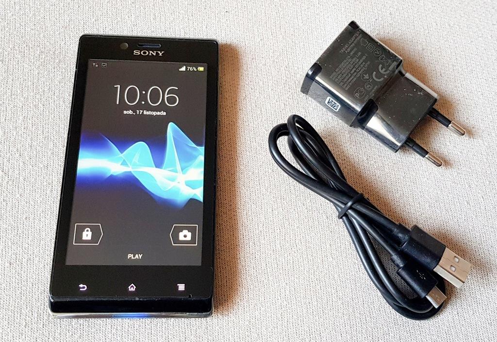 Sony Xperia J St26i Ladowarka Usb 7689788916 Oficjalne Archiwum Allegro