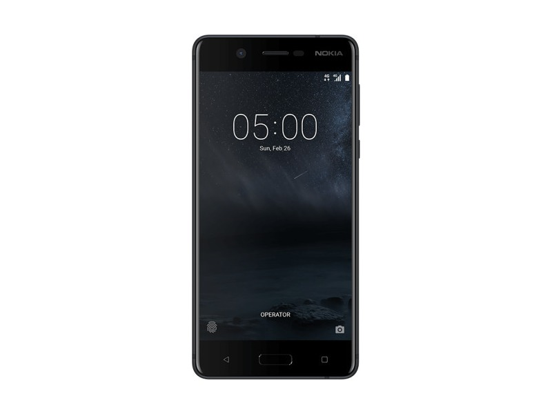 Smartfon NOKIA 5 Dual SIM Czarny Satynowy