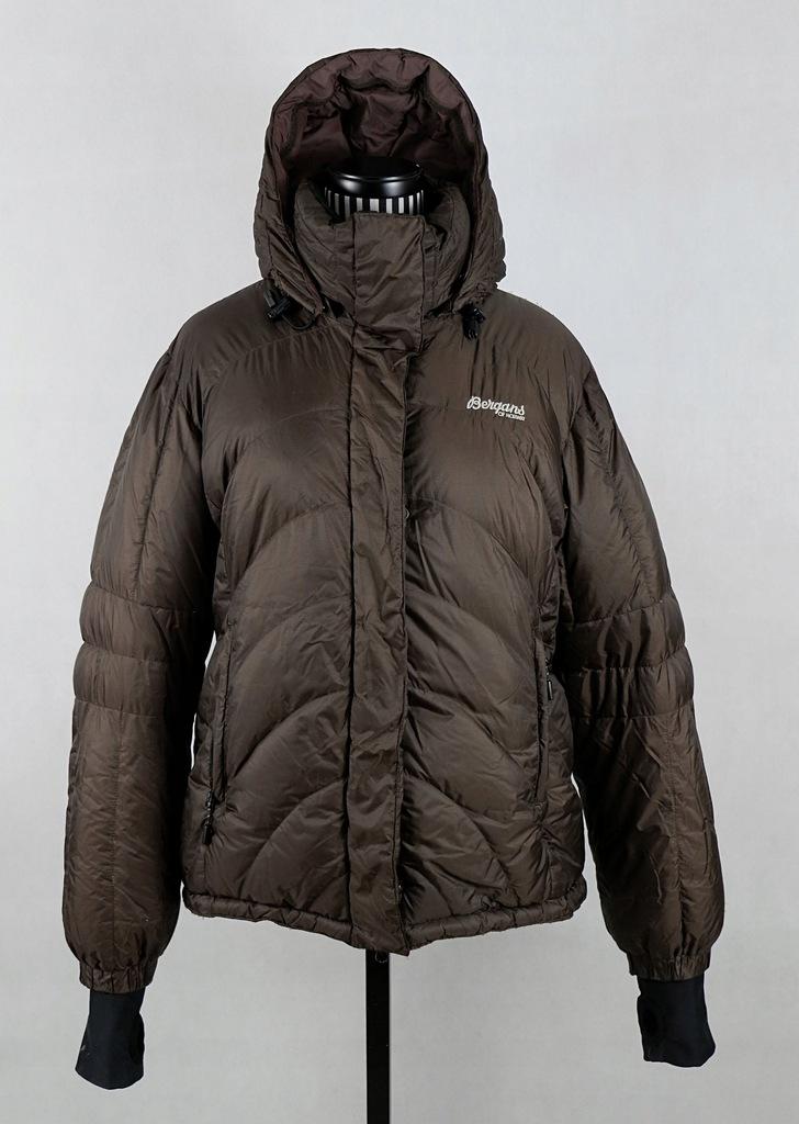 BERGANS 5335 Down Jacket Lady kurtka puch brąz M