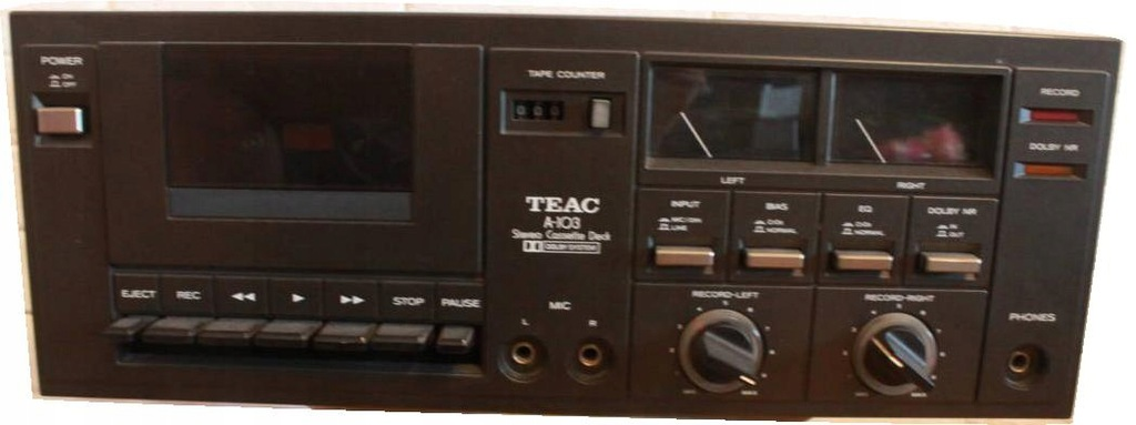 TEAC A-103 - DECK - RETRO
