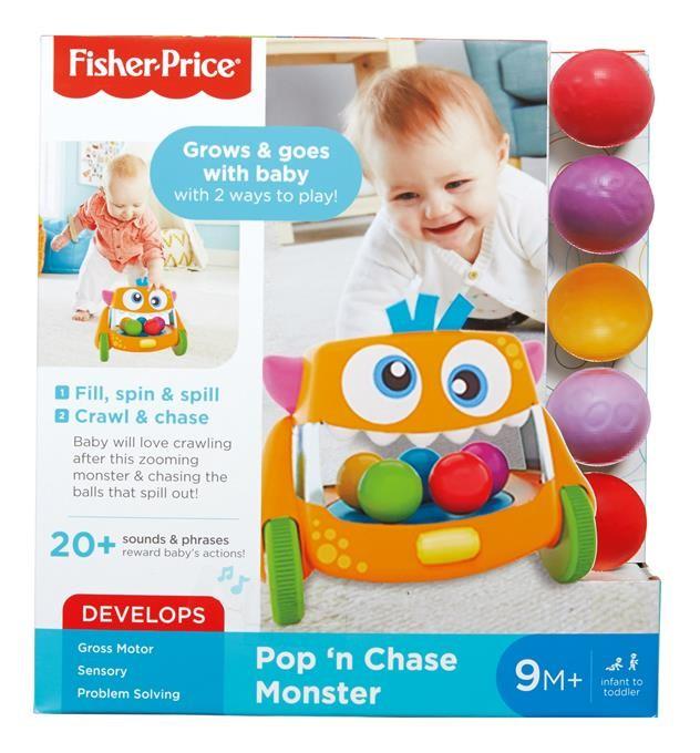 Fisher Price Śpiewający Stworek-Kręciołek