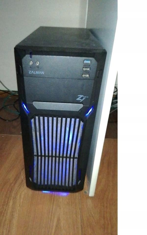 Komputer PC   Do gier i pracy   GTX   Intel   MSI