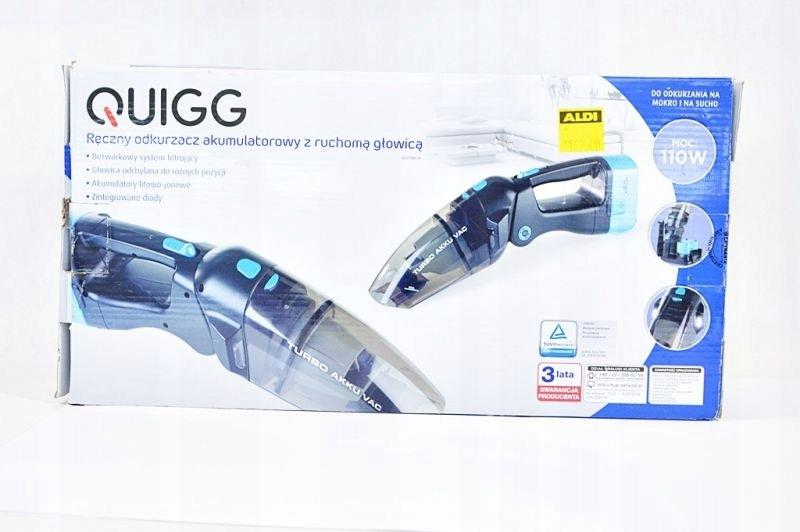 odkurzacz ręczny quigg z ruchomą