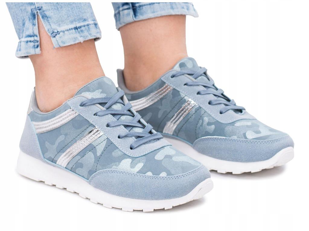 Buty adidasy damskie moro lekkie do biegania obuwie sportowe