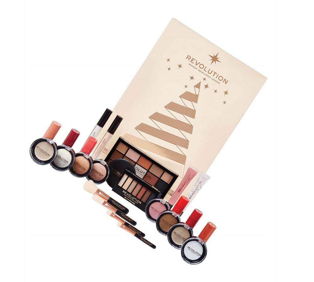 Makeup Revolution Kalendarz Adwentowy 2018 7662930390 Oficjalne Archiwum Allegro