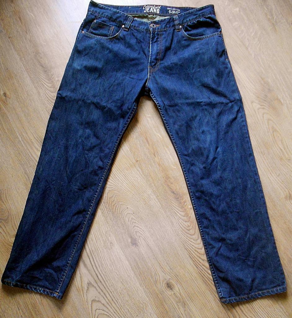 COTTONFIELD oryginalne jeansy  W38 / W40 L32