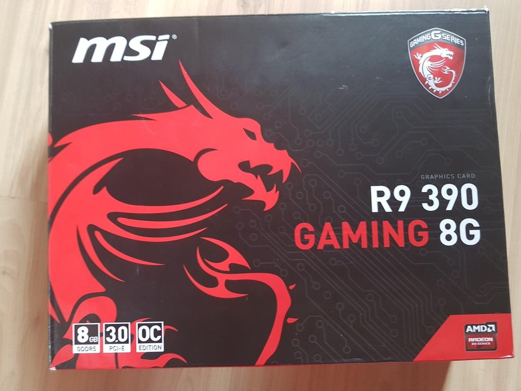 MSI Radeon r9 390 gwarancja