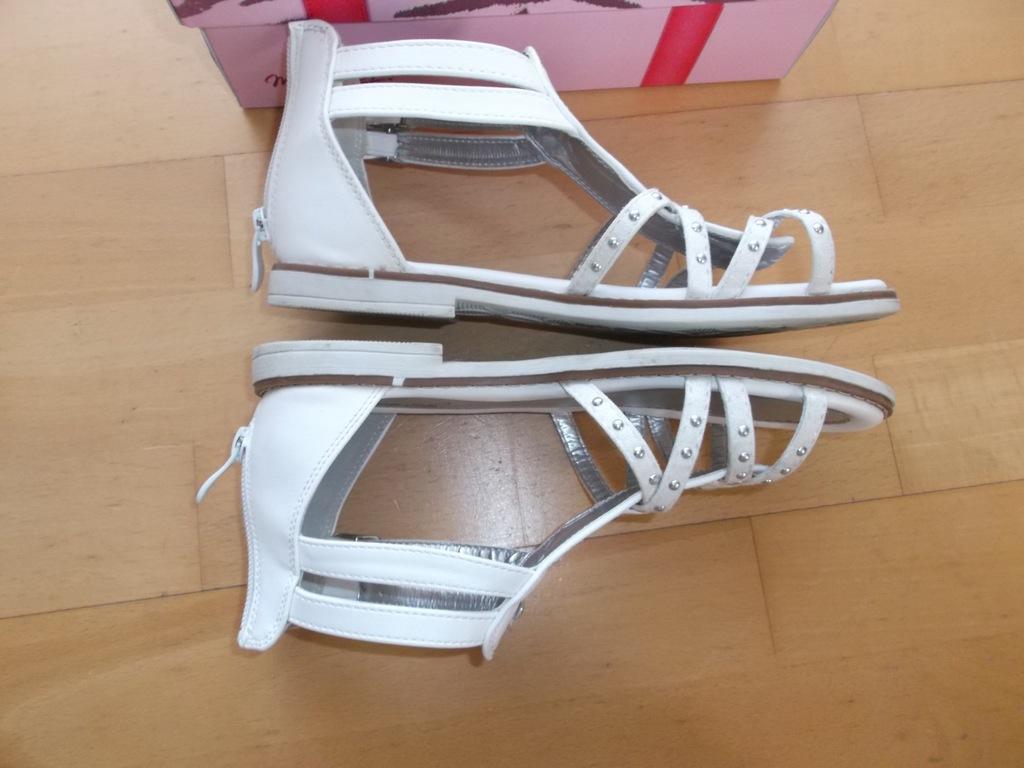 sandałki r 35 22,5 cm sandały CCC jak nowe 2017r
