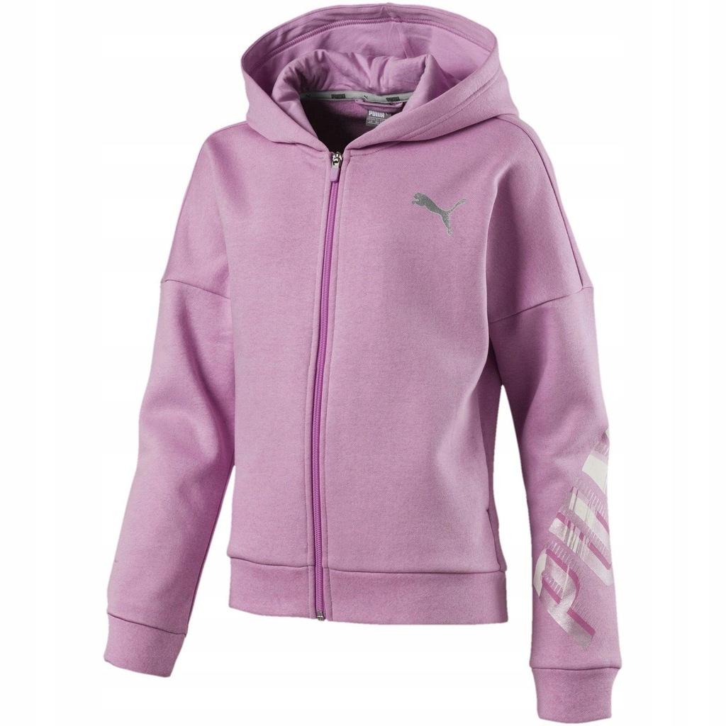 Kup Puma Sport Style FZ Hoodies Dziewczyny Bawełna Czarna