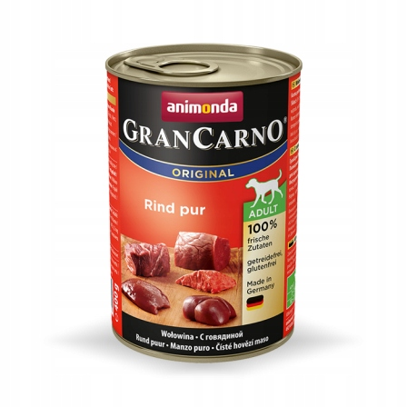 Animonda GranCarno wołowina dla psa 12x400g