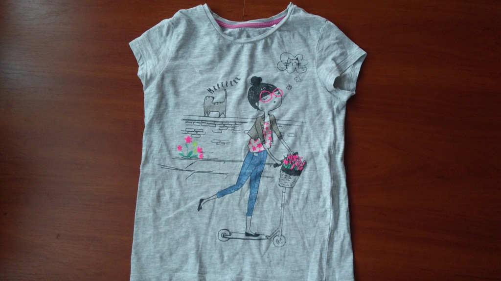 t-shirt, bluzka dla dziewczynki Cool Club 140