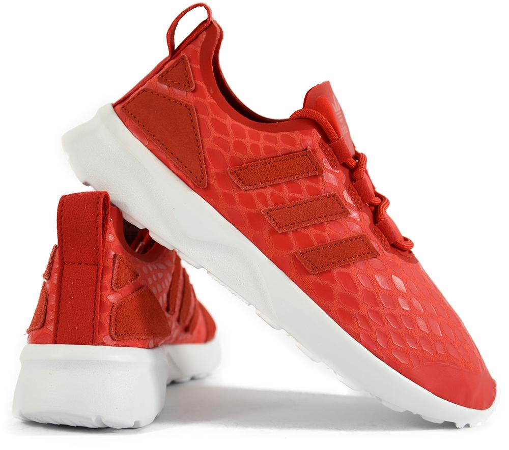 buty adidas zx flux biala podeszwa damskie