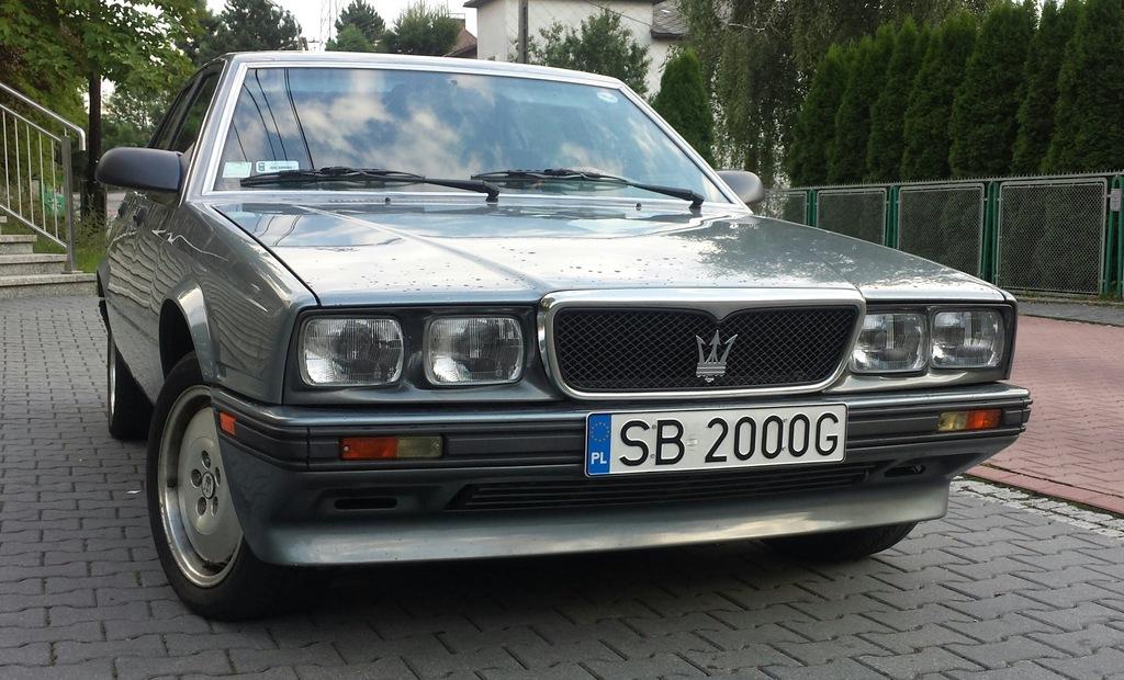 1989 Maserati 422 BITURBO - 7482841093 - oficjalne ...