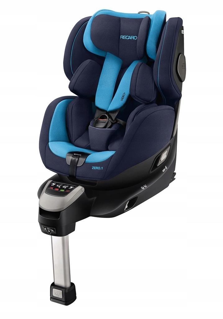 Recaro ZERO.1 I-SIZE fotelik obracany 0-18kg Blue