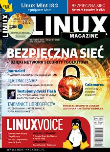 e-wydanie Linux Magazine 9/2017: Bezpieczna sieć