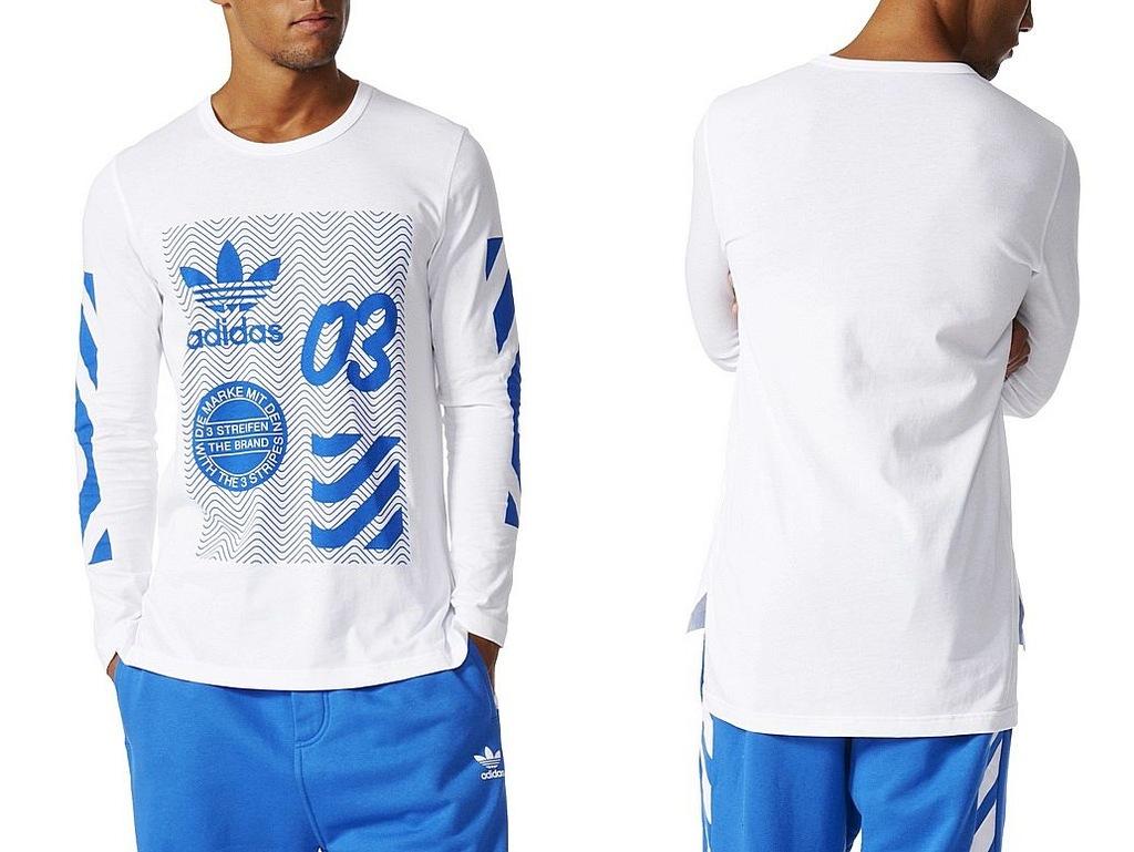 Adidas NYC LS (XL) Koszulka Męska