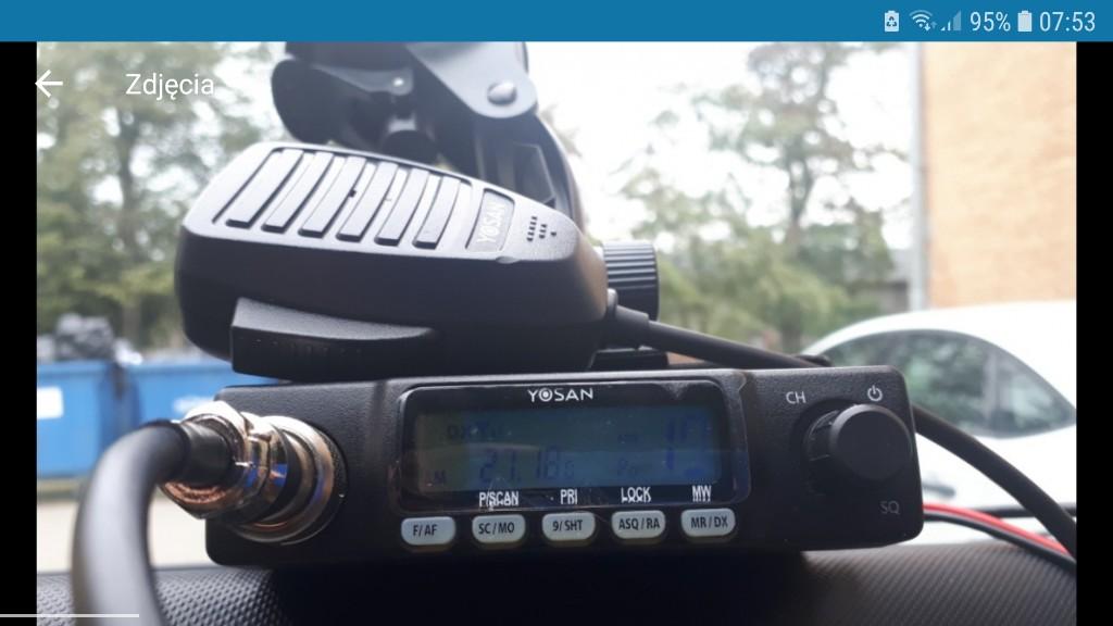 Cb Radio Yosan Cb 300 antena sirio T3 magnetyczna