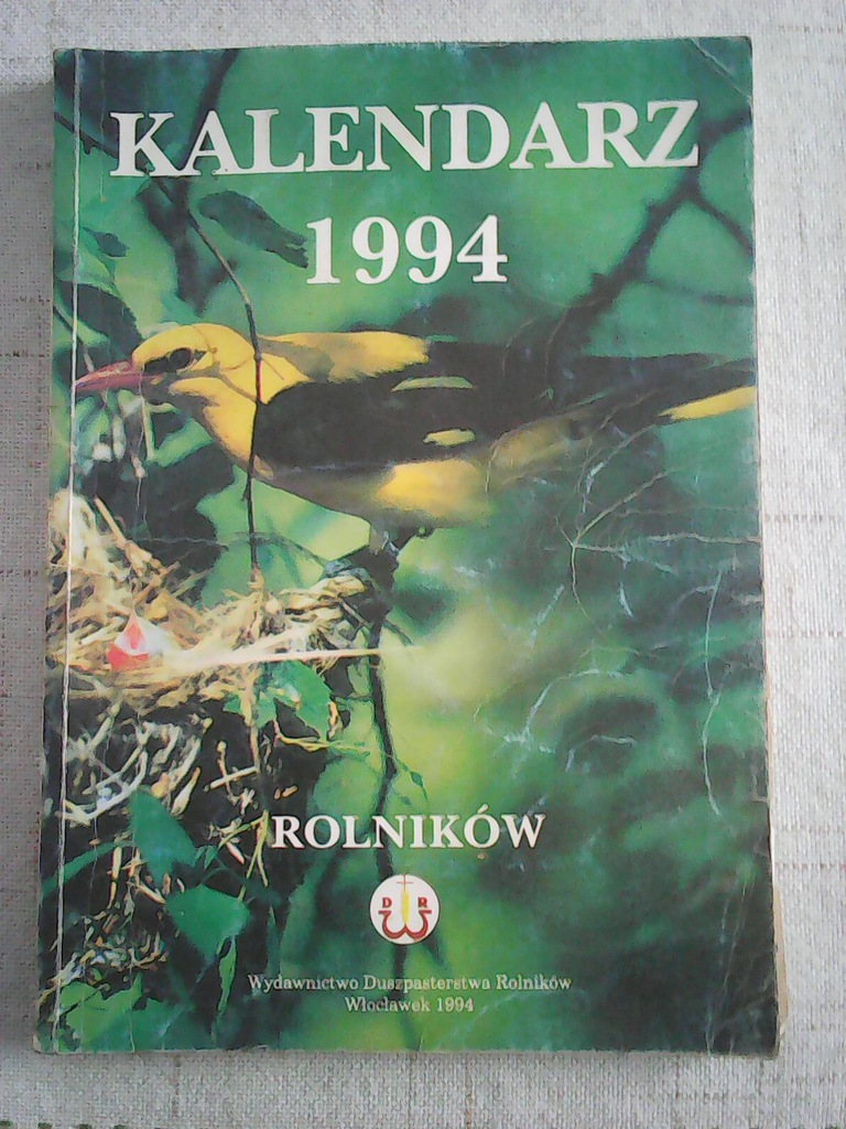 Kalendarz Rolnikow 1994 7193263489 Oficjalne Archiwum Allegro