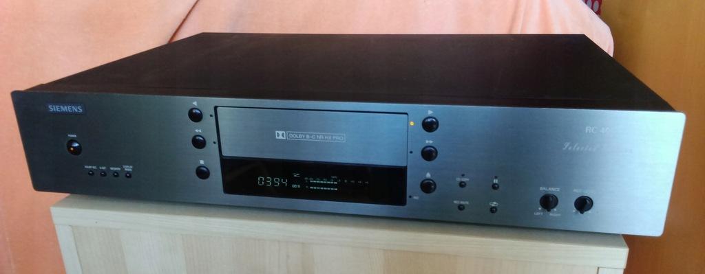 Deck SIEMENS RC 400 Selected Edition, szuflada